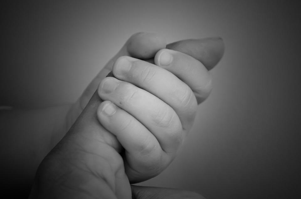 rączka dziecka